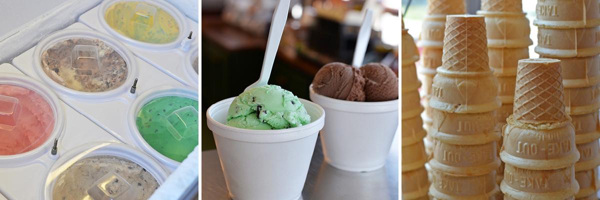 Hand-Scooped Ice Cream