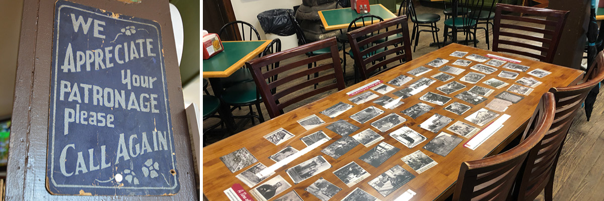 Tabletop with Old Photographs
