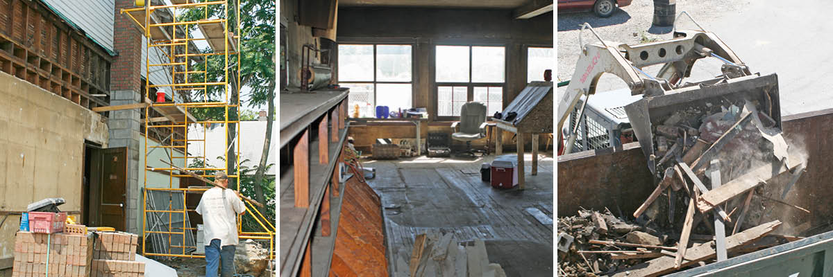 Yoho General Store – During Renovation
