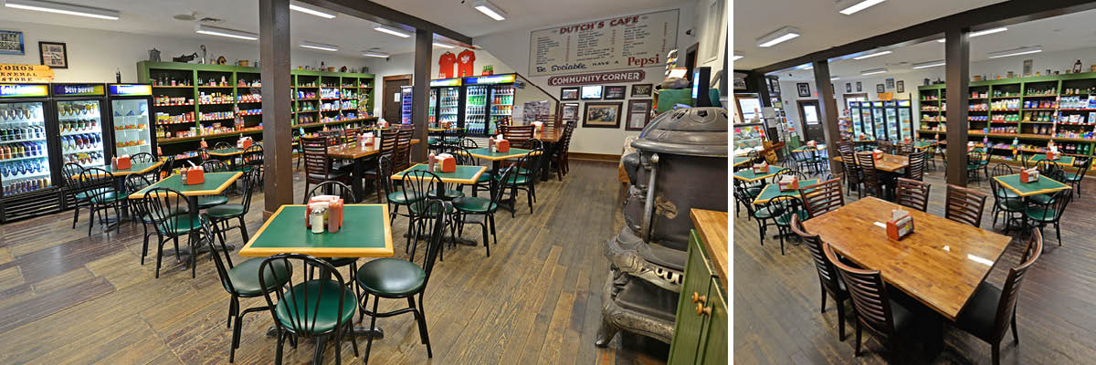 Yoho General Store – Today's Dining Area