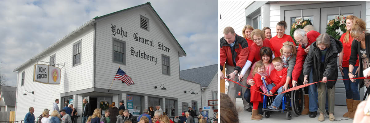 Yoho General Store – Ribbon Cutting in 2012
